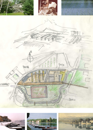 Remo Dorigati_OdA associati, Chiara Dorigati — Concorso di idee ad inviti relativo alla progettazione degli spazi e delle aree pubbliche interessate dalla riqualificazione dell'area ex-Avir