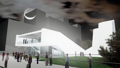 stasi & drammis architetti — lezioni di campus e di un edificio per associazioni studentesche accreditate