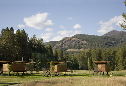 Olson Kundig Architects — Rolling Huts