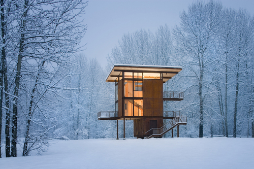 Olson Kundig Architects — Delta Shelter