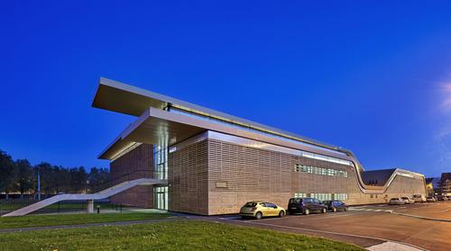 B+C architectes — PÔLE OMNI'SPORTS (POM'S) à Deauville-Trouville (14)