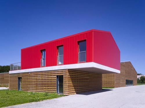 B+C architectes — Costruzione di un centro equestre Bois d'Arcy / Construction d'un centre équestre – ZAC de la Croix Bonnet à Bois d'Arcy