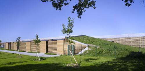 b c architectes costruzione di un centro equestre bois d. Black Bedroom Furniture Sets. Home Design Ideas
