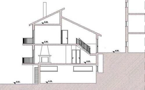 Felice Vaccaro — Abitazione Duplex Con Negozi A Roccabernarda.
