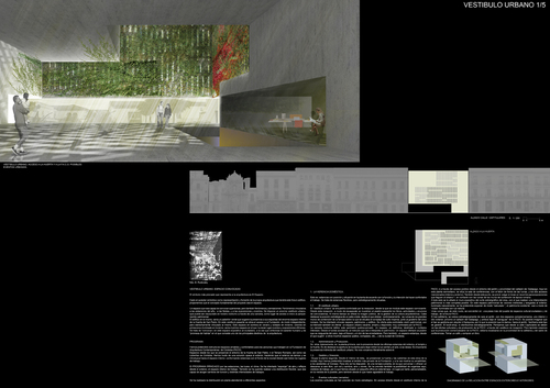 MGM arquitectos — Vestíbulo Urbano