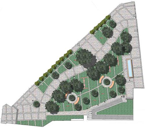 Vincenzo cammarata progetto di un giardino pubblico for Planimetria giardino