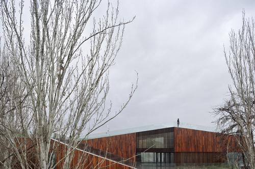 Mag n arquitectos sede del servicio de medio ambiente de - Arquitectos en zaragoza ...