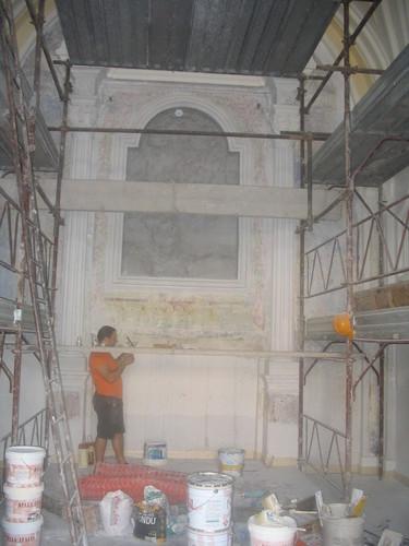 Giovanni Di Sarno — Restauro Cappella Maria SS. del Rosario