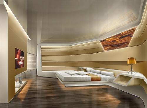 Studitalia llc habitalia michele cucchiara penthouse for Planimetrie della master suite