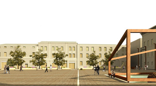 Moduloquattro Architetti — Riqualificazione di Piazza Kennedy a Ravenna