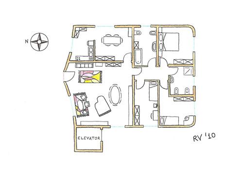 Roberto vantaggi casa a due piani ordine degli - Pianta casa bifamiliare ...