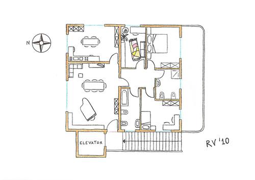 Roberto vantaggi casa a due piani ordine degli for Piani di casa a nord ovest