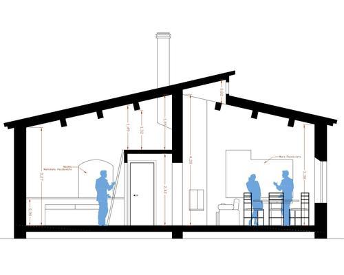 Sezione di una casa come si fa