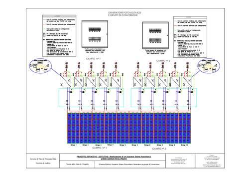 Schema Elettrico Gradino Project 2000 : Schema tipo fotovoltaico fare di una mosca
