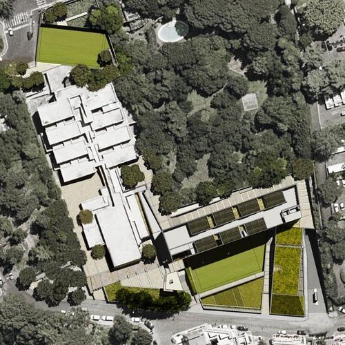 Moduloquattro Architetti — Ampliamento del Liceo Farnesina