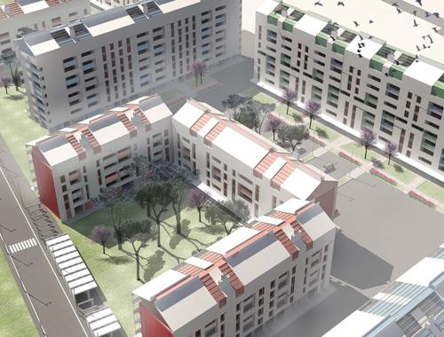 Insula Architettura e Ingegneria S.r.l. — Progetto per abitazioni sociali e sostenibili