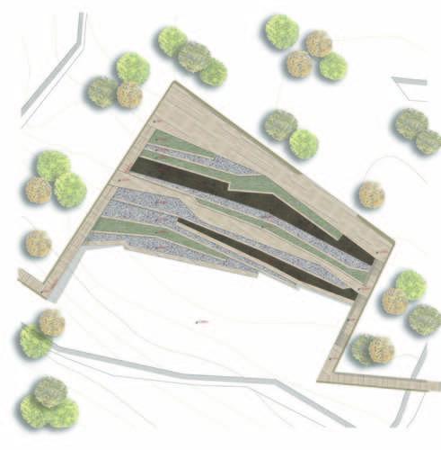 rosso19, OAB – Ferrater & Asociados, PiSaA Piemonte·Samsarelou·Arquitectos, Tommaso Rossi Fioravanti, lorenzo tognocchi — carso 2014+ ambito Doberdò del Lago