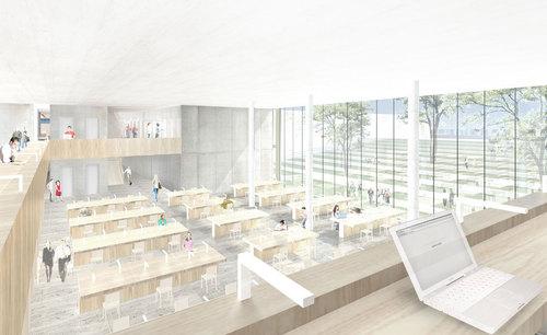 Thomas Müller - Ivan Reimann Architekten — Neubau der gemeinsamen Bibliothek der Fachhochschule und der Universität Osnabrück