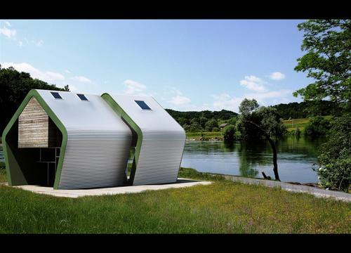 Arch leonardo celestra case nei boschi di rebici for Case moderne nei boschi