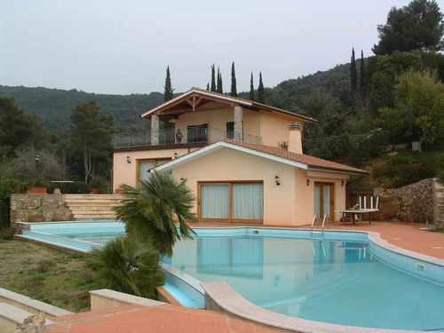 Massimiliano pardi progetto di villa con piscina all 39 isola d 39 elba loc fabbrello portoferraio - Progetto villa con piscina ...