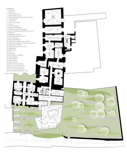RICCISPAINI architetti associati srl, Thomas Demetz, Pino Scaglione — BIBLIOTECA CIVICA di BRESSANONE