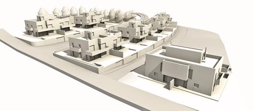 Franconi architects 14 viviendas pareadas divisare by - Juliette boulard ...