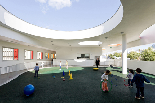Mayslits Kassif Architects — Remez-Arlozorov Community Campus