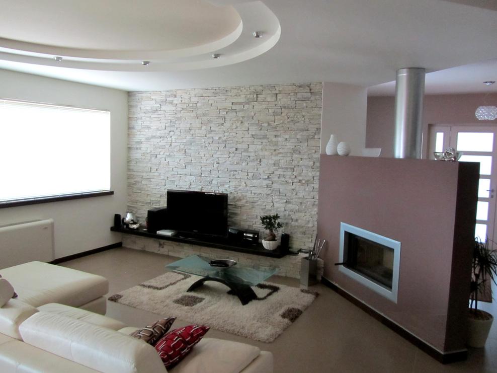 Decorare pareti cameretta bimba - Pietra parete soggiorno ...