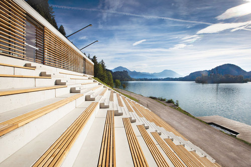 multiplan arhitekti  — Rowing Centre in Bled