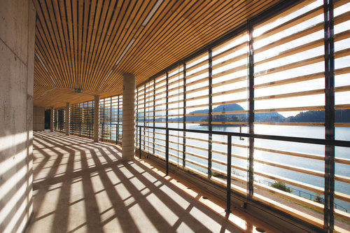 multiplan arhitekti  — Rowing Centre in Bled