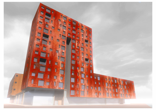 Tacto - Atelier de Arquitectos, tiago botelho alberto — A101 Block Competition