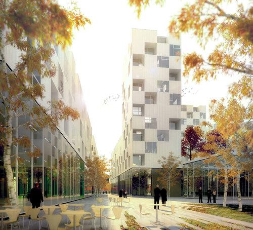 nicolas reymond architecture julien joly architecture en dorigny projet urbanistique et d. Black Bedroom Furniture Sets. Home Design Ideas
