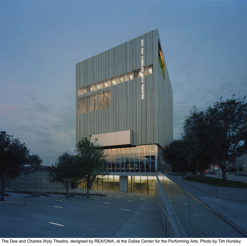REX Architects, OMA — Dee and Charles Wyly Theater