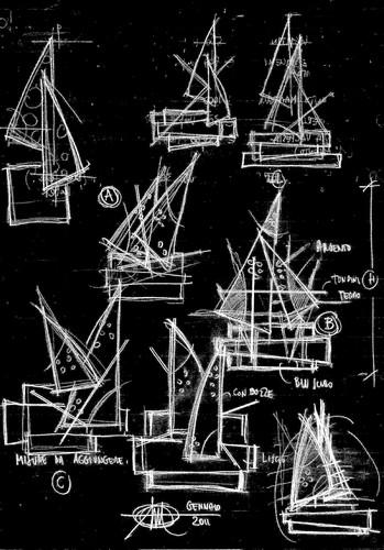 Marcello Tomei Architetto — Sculture parietali in acciaio