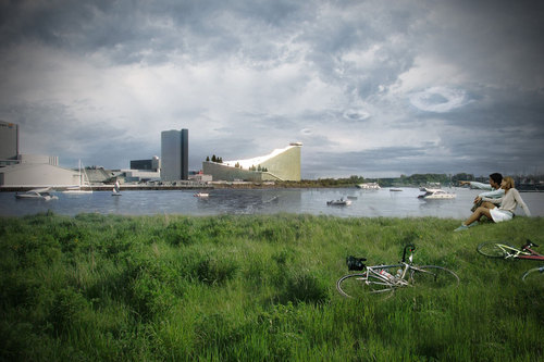 BIG - Bjarke Ingels Group, TOPOTEK 1, MAN MADE LAND — New waste treatment plant in Copenhagen