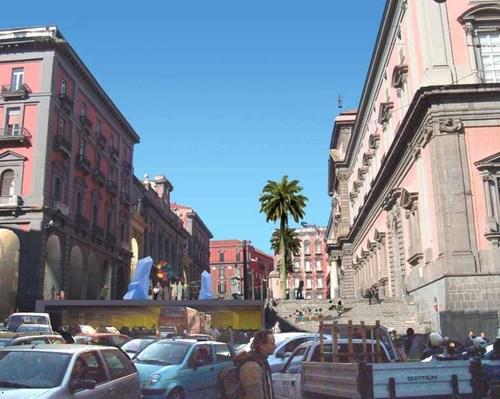 Vincenzo De Biase — Nuova Piazza Museo A Napoli