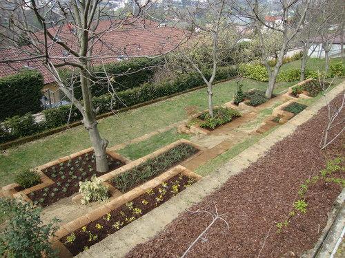 Massimiliano alforno giardino privato in collina di - Progetto giardino privato ...