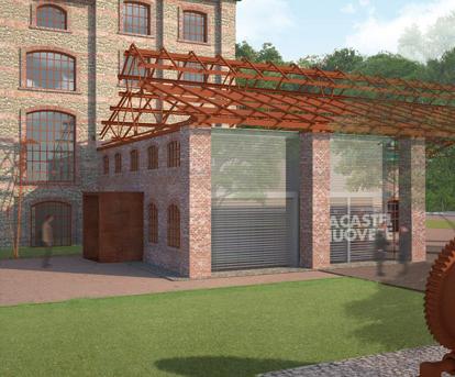 Bernardo Tori — Recupero edificio industriale ex bricchettificio. San Giovanni Valdarno