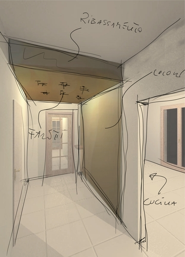 Tania Alessio — Sistemazione interna di appartamento a Ponteranica