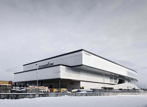 Roland Baldi, dott.arch. Johannes Niederstätter / VWN Architects — Sede aziendale TechnoAlpin