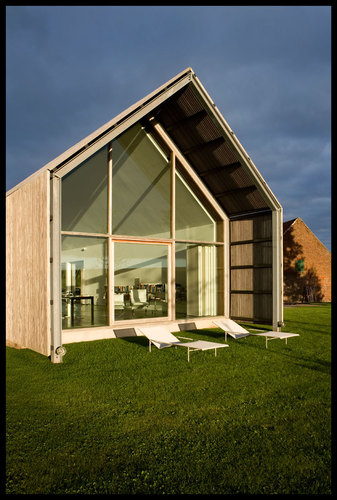 Architecture engineering photography the barn house for Architecture buro