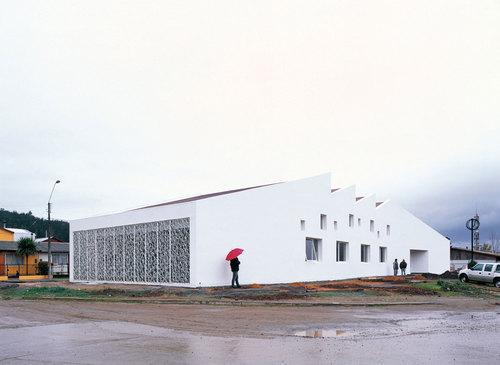 Emilio Marin, Murúa-Valenzuela arquitectos — Licantén Public Library