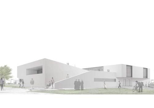 f-lab architettura  , Andrea Peruzzi, Nicola Scandone, David Vecchi, Paolo Venturella — Centro SocioCultural - Jesus