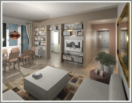 Raffaella guazzoni ristrutturazione appartamento a bergamo for Ristrutturare appartamento 75 mq
