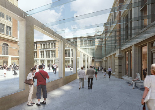 Tony Fretton Architects — V&A Exhibition Road