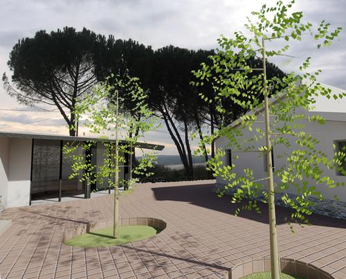 Francesca crocco architetto struttura leggera per - Architetto per ristrutturazione casa ...