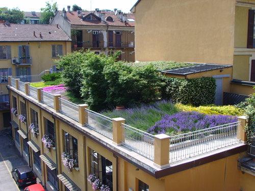 Paolo albrigo valentina balzarotti nuove tendenze del for Sezione tetto giardino