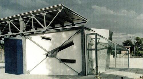 Alessandro Melis, Gianluigi Melis, ARCHITETTO             Benedetto Montesi — Stazione Ecologica