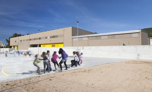 mipmarí arquitectura i disseny — Colegio Público Es Vedrà