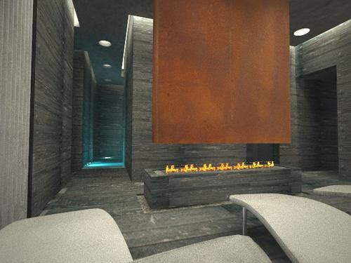 Oia progetti nuova sede greda srl carpi for Sauna del cortile chiavi